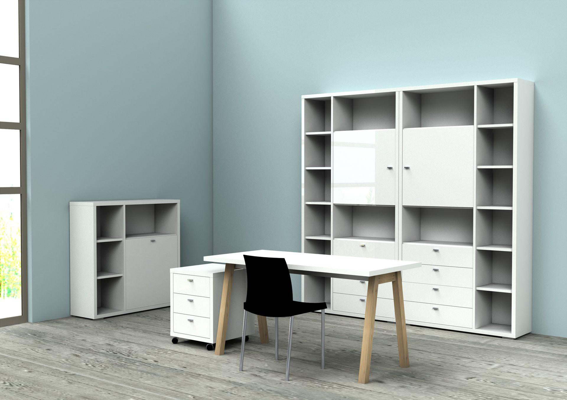 Büromöbel weiß günstig  Einrichtungshaus Hansel Delbrück-Westenholz | Möbel A-Z | Regale + ...